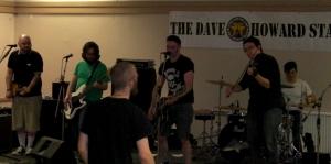 band Dave Howard Stage Sunday Strummercamp 2013