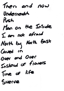 Dub Sex Eagle salford April 7 2014 -  Setlist